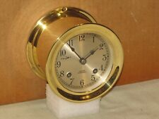 CHELSEA VINTAGE SHIPS BELL CLOCK ~3 3/4 IN.DIAL~1956~RESTORED