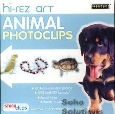Animal Photoclips  Hi-Rez Art PC / Mac Brand New - Royalty Free Photographs