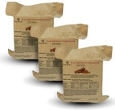 S.O.S Emergency Food Rations Cinnamon Flavor with 5 Year Shelf Life - 3 Packs