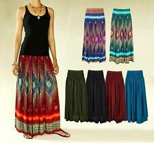 Maxi Rock Skirt Hippie Goa Boho Ethno Vintage Sommer Rock