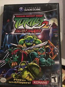 teenage mutant ninja turtles 2 gamecube No Manual