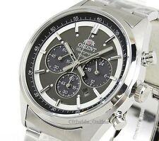 New ORIENT watch NEO 70's neo-Seventies SOLAR PANDA dark gray WV0011TX Men