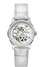 Hamilton Jazzmaster Viewmatic Skeleton Auto White Dial Lady's Watch H32405811