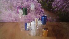 Deoroller Mini Glas roll on Flasche 4 er Set Größen 2 ml 5 ml 10 ml glass bottle