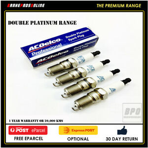 Spark Plug 4 Pack for Daihatsu Applause A103 1.6L 4 CYL HDE1 10/97-6/05 41801