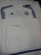 CHELSEA- JOHN TERRY HAND SIGNED CHELSEA TRAINING JERSEY+ PHOTO PROOF + C.O.A