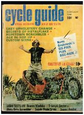CYCLE GUIDE FEBRUARY 1968 NEW TRIUMPH FOR '68 CUSTOM BIG BIKE STREET CHOPPERS