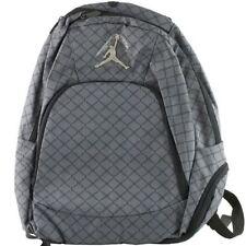 NWT Nike Air Jordan Gray Laptop Bag Backpack School Book Bag  New