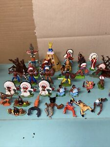 Britains Deetail Britains Indians Teepee Totem Pole Joblot