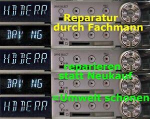 """REPARATUR """"HDD ERROR"""" """"HDD NG"""" bei PANASONIC DMR-EX95V * DMR-EX98V * DMR-EX99V"""