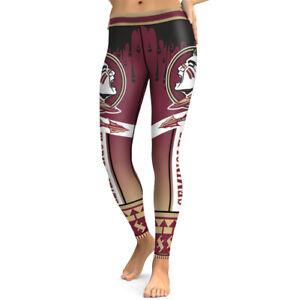 Florida State Seminoles leggings Small-XXL (0-14) FSU Football College Fan Gift
