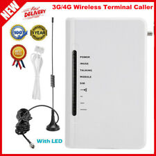 Fixed Wireless Terminal GSM SIM Desktop Phone Line 3G/4G With Light No Screen