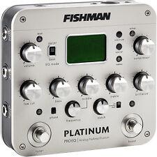 FISHMAN Platinum Pro EQ / DI Analog Universal Preamp PRO-PLT-201 MAKE OFFER! NEW