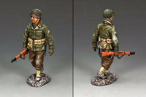 NEW!!! King & Country Battle of the Bulge Walking Winter GI BBA068