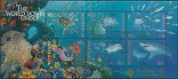 Australia 1995 SG1562 Marine Life MS swanpex ovpt MNH