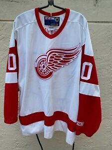 DETROIT RED WINGS HOME NHL REDS HOCKEY CCM JERSEY O' BRIEN SZ XL