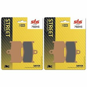 Victory 1731 Kingpin 10 > ON SBS Front Brake Pads Sinter EO QUALITY 782HS