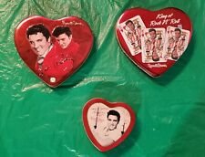 Russell Stover Collectible Elvis Tin 3-Lot !