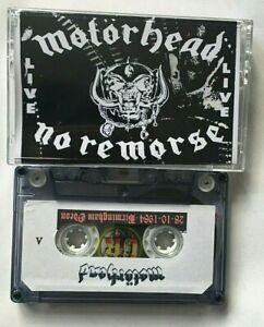 Motorhead No Remorse Birmingham 84  CASSETTE TAPE