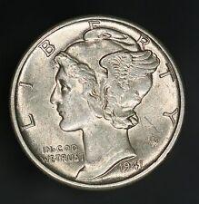 1941-D Mercury Dime Beautiful Original High Grade Example! GC671