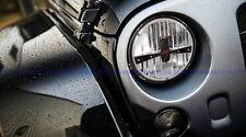"ANZO USA H4 7"" Round L.E.D. Headlight (Pair) For '97-15 Jeep Wrangler JK  881036"