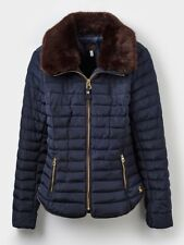 Joules Ladies Gosfield Padded Jacket Caramel or Marine - Sizes UK 8-18