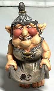 1987  Krystonia Grackene Troll Figurine Made In England #1051  CS17-963