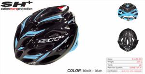 SH+ (SH Plus) Shot R1 Cycling Bicycle Helmet -Black/Blue (Was $184.99) Kask Giro