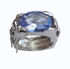 ORIGINALE ANELLO IN ARGENTO 925 CON CUBICI ZIRCONIA - 18KT STERLING SILVER RING