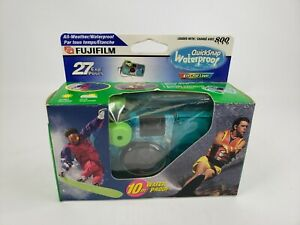FujiFilm Disposable Quick Snap Waterproof Camera 27 Exposures Expired 03/2005