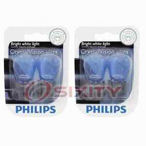 2 pc Philips Back Up Light Bulbs for Jeep Liberty 2011-2012 Electrical br