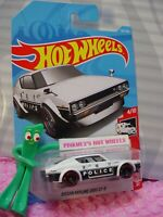 NISSAN SKYLINE 2000 GT-R #160✰white/black;POLICE✰RESCUE✰2019 i Hot Wheels case H