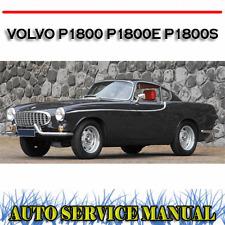 VOLVO P1800 P1800E P1800S WORKSHOP SERVICE REPAIR MANUAL ~ DVD