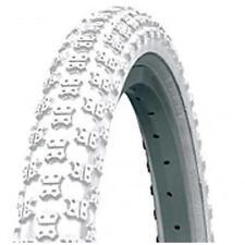 "KENDA Tyre 16"" 16x2.125"" 40cm Kids BMX Pram 40psi Max K50 KNOBBY WHITE"