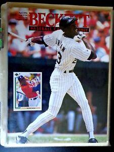 Beckett Baseball Card Monthly April 1994 Issue #109 Michael Jordan Cover