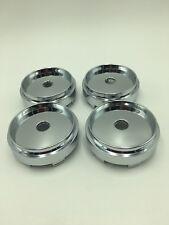 4pcs 66mm Chrome Wheel Hubs Center Hub Cap Universal Wheel Rim Hub Cover Caps