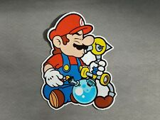 "5"" x 4"" Weed Bong Mario Vinyl Decal Sticker"