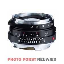 Voigtländer Nokton 1,4/35 mm S.C. VM II schwarz, *Vitrinenexemplar* für Leica M