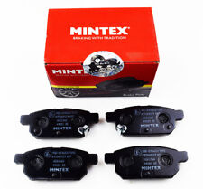BRAND NEW MINTEX REAR BRAKE PADS SET MDB3168 (REAL IMAGES OF THE BRAKE PADS)
