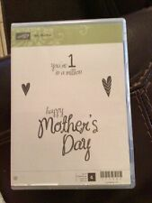 """Stampin' Up! """"My Mother� Stamp Set #133083 New"""