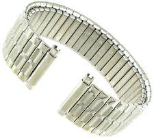 16-21mm Speidel Twist-O-Flex Silver Straight End Stainless Watch Band 1366/03 XL