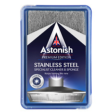 Stainless Steel Cleaner & Scrubber Stains Grease - Astonish As Seen On Tv!