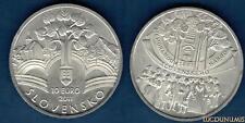Slovaquie 2011 10 Euro Adoptation Mémorandum Nation Slovaque - Slovensko