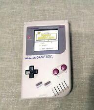 Original Nintendo Game Boy Gameboy DMG handheld with IPS V3 backlight