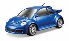 Burago -  Volkswagen New Beetle RSI in Blue