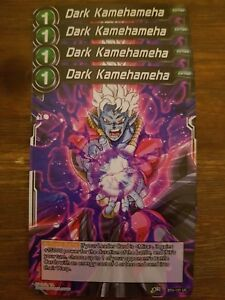 4x Dark Kamehameha - Dragon Ball Super Card Game