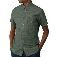 Ben Sherman Mens Big Size Short Sleeve Core Gingham Check Shirts