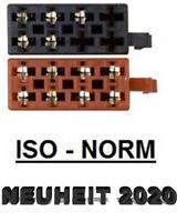 Autoradio ISO Auto Radio Stecker Adapter Kabel Strom Lautsprecher DIN 13 polig