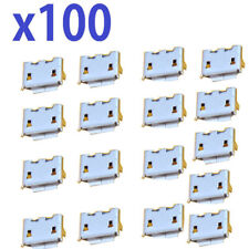 Lot 100 Micro USB Charger Port For HTC hd2 t8585 hd7 Inspire 4g Desire 510
