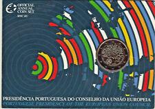 PORTUGAL 2007 2 € BU Commémorative PRESIDENCE UE / Sous blister